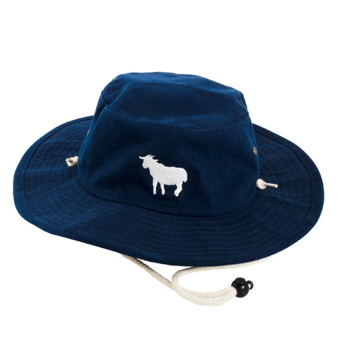 Goat Bucket Hat (Navy) - Shop Andrew Zimmern - Accessories