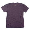 """If It Looks Good Eat It"" Pig T-Shirt - Vintage Purple"