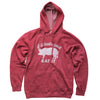 """If It Looks Good Eat It"" Hoodie Sweatshirt - Red"