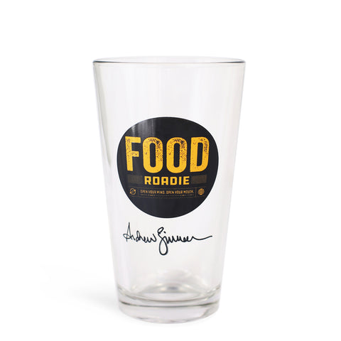 Food Roadie Compass Pint Glass