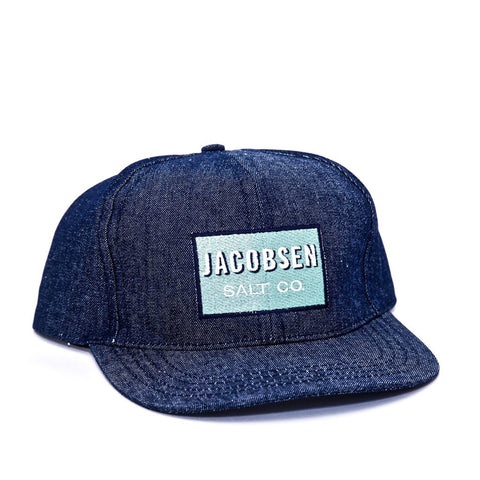 Jacobsen Salt Co. Denim Cap - Shop Andrew Zimmern - Clothing  - 1