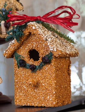 Yellow Seed Bird House By Mr. Bird