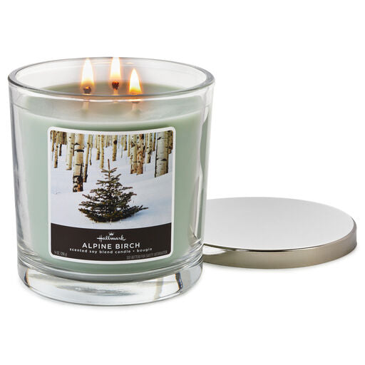 Alpine Birch 14 oz. Three Wick Candle