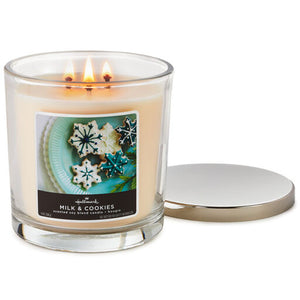 Milk and Cookies 14 oz. Three Wick Candle