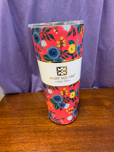 Mary Square Tumbler {Floral}