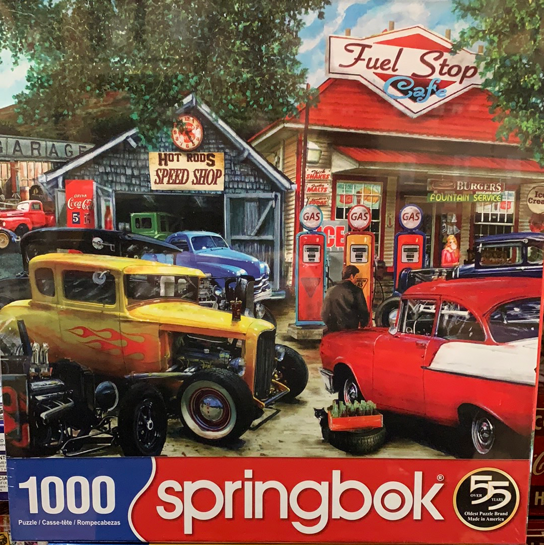 Hot Rod Cafe Puzzle By Springbok