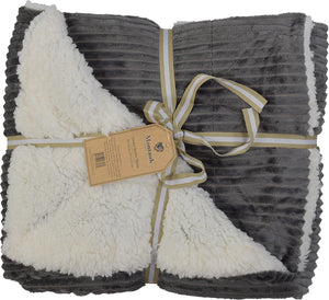 Sherpa Blanket Gray