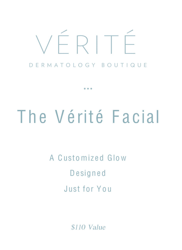 THe VÉRITÉ Facial