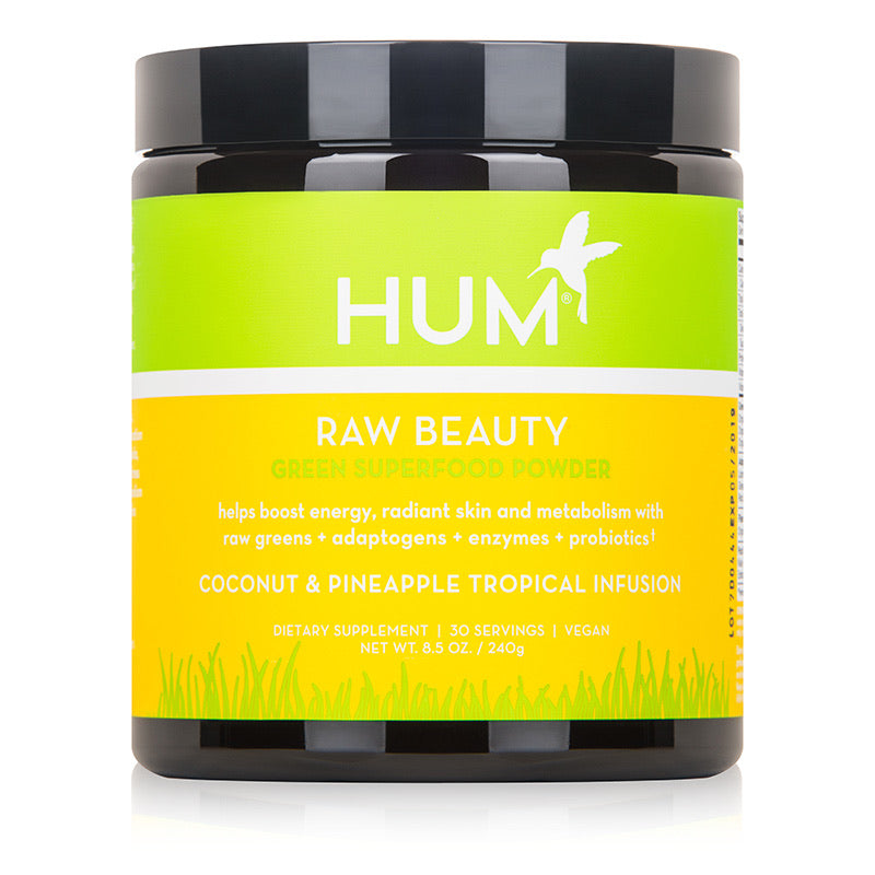 HUM NUTRITION RAW BEAUTY - GREEN SUPERFOOD POWDER