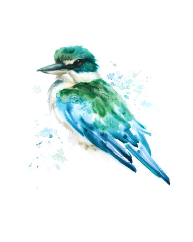 MARCH 2019 Timed Edition Print - Sacred Kingfisher