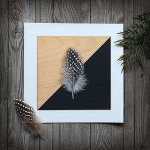 Black-Masked: Feather - Limited Edition Print