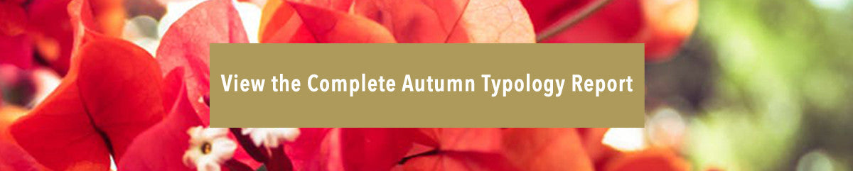 autumn typeology skin care report