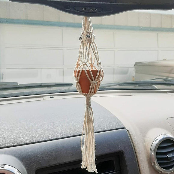 Rearview Mirror Plant Hanger Bundle