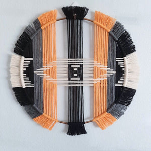 13in Geometric Wall Hanging