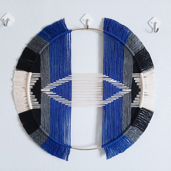 15in Geometric Wall Hanging