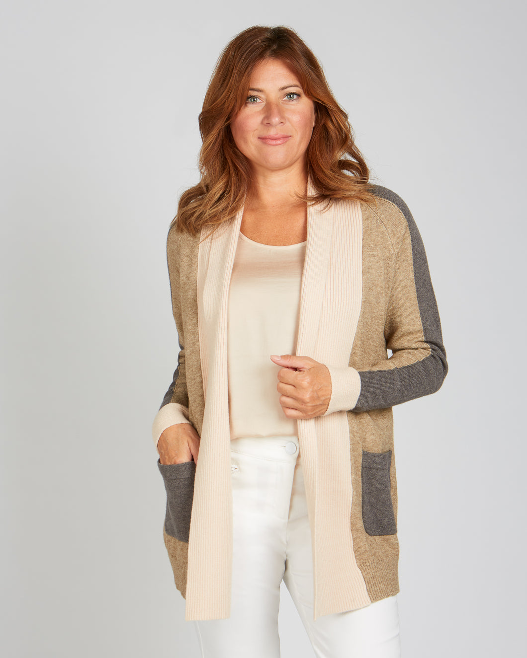 Renuar Knit Sweater Cardigan - Style R6722