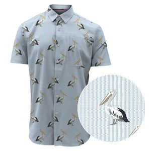 Point Zero Men's Short Sleeve Shirt - Style 7254899