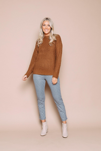 Orb June Pointelle Sweater - Style 031219