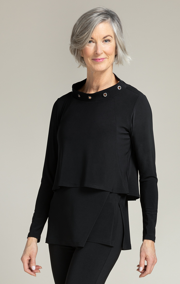 Sympli Halo Shorty Long Sleeve Top - Style 22221X3