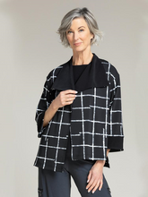 Load image into Gallery viewer, Sympli Etch Reversible Jacket Style 25131CB
