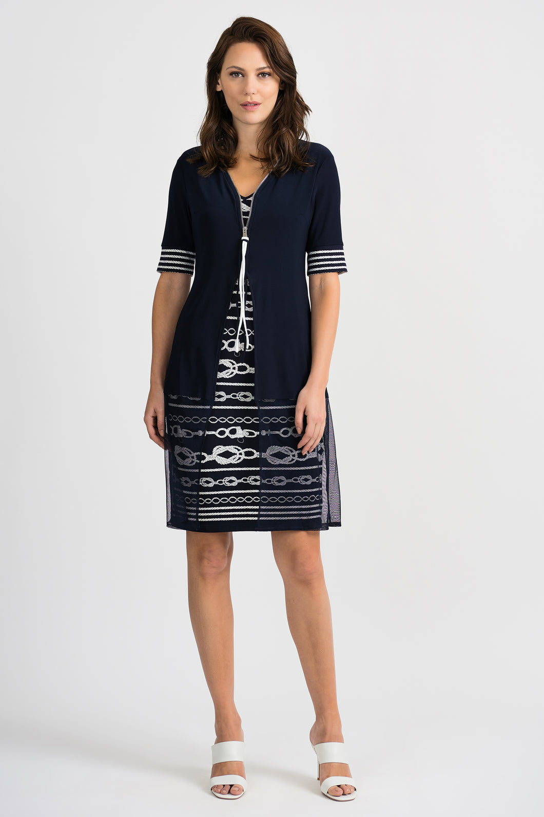 Joseph Ribkoff Short Sleeve Dress