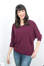 Load image into Gallery viewer, Shannon Passero Jessica 3/4 Sleeve Top - Style 540