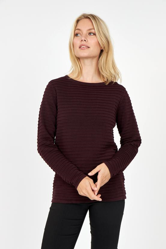 Soya Concept Scoop Neck Sweater - Style 33036