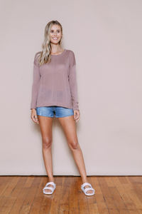 Orb Paige Long Sleeve Pullover