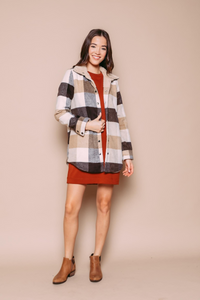 Orb Shearling Lined Jacket  - Style 013500