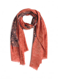 Nice Things Spiral Sprint Scarf - Style WFK009