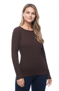 FDJ Ribbed Ballet Neck Sweater - Style 1173255P