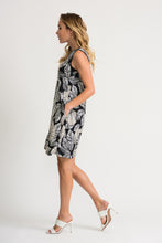 Load image into Gallery viewer, Joseph Ribkoff Leaf Print Dress