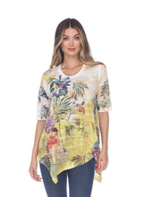 Load image into Gallery viewer, Inoah Sunny Short Sleeve Top - Style T588BOY22