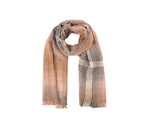 Soya Concept Plaid Scarf - Style 50933