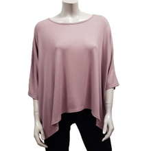 Load image into Gallery viewer, Gilmour Modal Rib Knit Drapey Tee