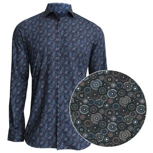 Point Zero Men's Long Sleeve Shirt - Style 7354129