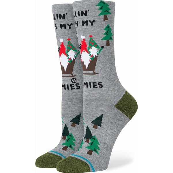 Instance Socks Ladies Life Rollin With My Gnomies - Style W545D20RGN