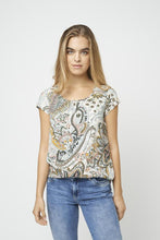 Load image into Gallery viewer, Soya Concept Cap Sleeve Tee - Style 16593
