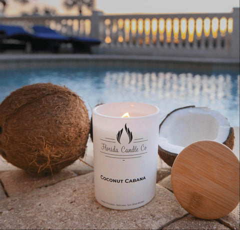 Coconut Cabana soy candle
