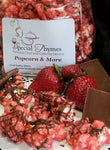 Strawberry Chocolate Popcorn