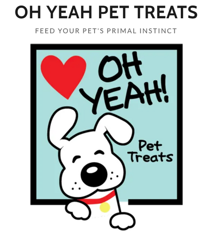 Oh Yeah Pet Treats (CHOOSE THE FLAVOR)