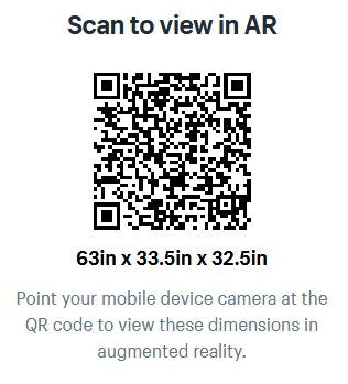 HT Interiors Furniture Store Vancouver - QR code for AR