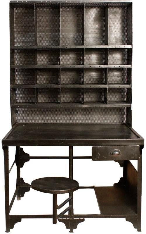 Industrial Mail Sorting Desk -  furniture clearance - HT Interiors Furniture Store Vancouver
