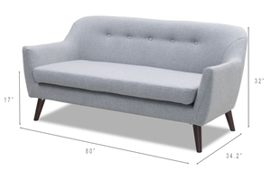 Ally Loveseat - Living Room furniture clearance - HT Interiors Furniture Store Vancouver
