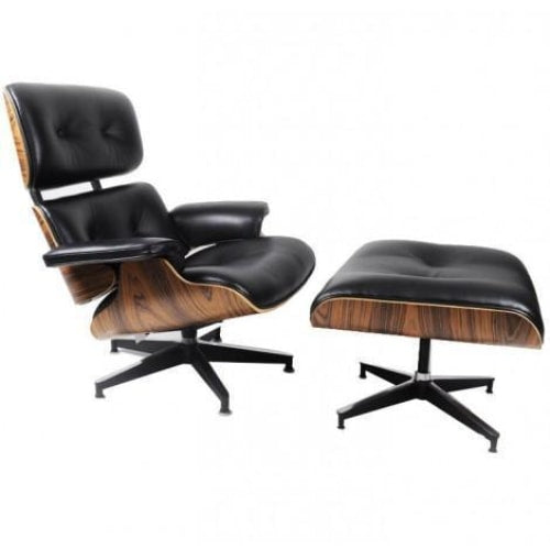 Eames Lounge and Ottoman - Living Room furniture clearance - HT Interiors Furniture Store Vancouver
