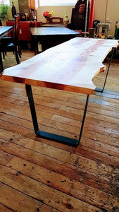 Live Edge Dining Table - Dining Table furniture clearance - HT Interiors Furniture Store Vancouver