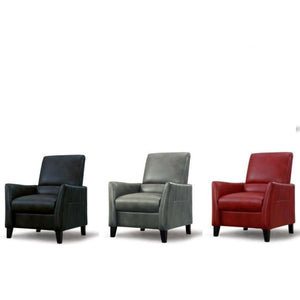 Norad Leather Classic Chair - Living Room furniture clearance - HT Interiors Furniture Store Vancouver