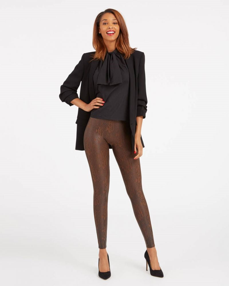 Spanx Snakeskin Faux Leather