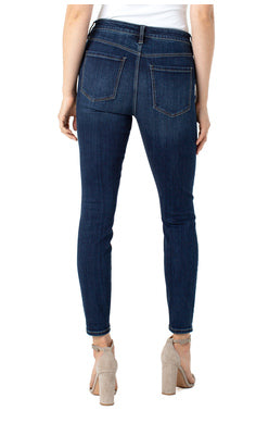 Liverpool Abby High Rise Ankle Skinny in Essential