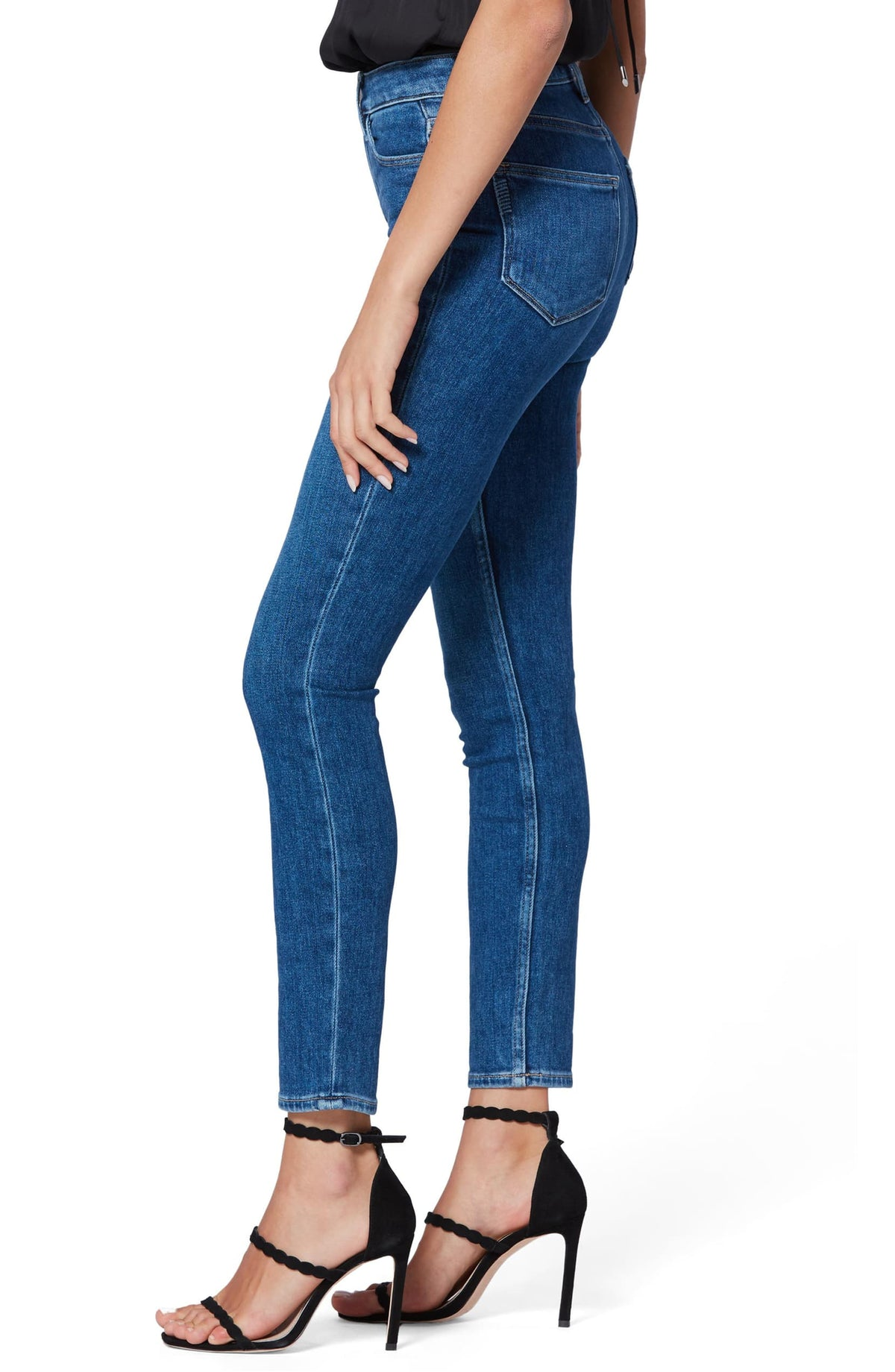 Paige Margot Skinny Super High-Rise Skinny in Bambi